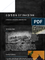 Division of Pakistan