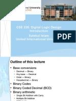 Digital logic and Design Introduction