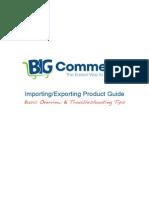 Interspire Import Export Guide