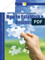 How to Establihed a Busines in BIH.09.04.2014