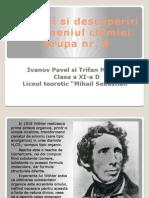 Chimisti Si Descoperiri in Domeniul Chimiei
