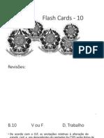 Flash Cards - Bloco 10
