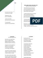 Selecion de Poesías