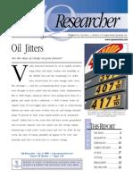 Global Environmental Issues Oil Jitters