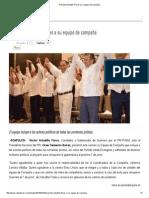 15-03-15 Presenta Astudillo Flores a Su Equipo de Campaña