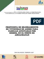 Manual de casas de Adobe Ahuchapan