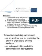Lec 1 Modeling and Simulation