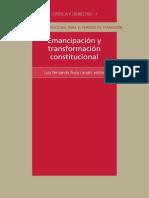 Emancipacion y Transformacion Constitucional