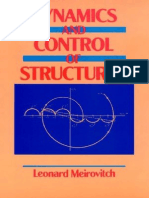 [Meirovitch] - Dynamics and Control of Structures