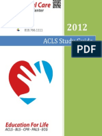 Acls Study Guide 2013