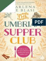 The Umbrian Supper Club by Marlena de Blasi