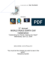 earth day 2009 program