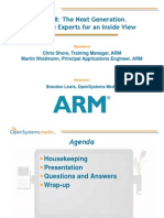 Osm and Arm Webcast Slides March 2015