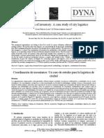 Coordinación de Inventarios - IO 2