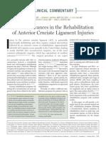Recent Advances in the Rehabilitation LCA
