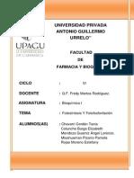 Proyecto - Fostosintesis y Fotofosfoliración
