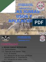 Rocas Ígneas y Usos y Aplicacion