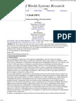 Bartley y Bergenssen World Systems Studieseer345