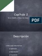 Reseña y redacción