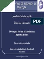 Mecanica de Fractura Presentación CONEIM