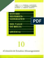 Estudio Histórico y Geográfico Del Valle de Bielsa - Varios