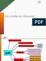 3. PH y Acidez en Alimentos