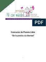 Concurso de Poesía Libre 2014