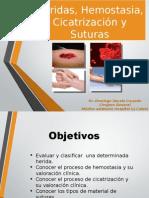 Heridas, Hemostasia, Cicatrización y Suturas OFICIAL