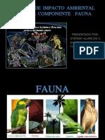 Estudio de Impacto Ambiental Para El Componente Fauna