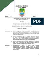 LD Perda 02 Tahun 2014 Tentang Pengendalian Pencemaran Udara