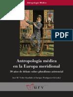 Antropología Medica en la Europa meridional