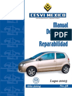 Manual de Reparabilidad VW Lupo