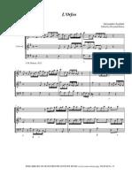 Alessandro Scarlatti LOrfeo cantata
