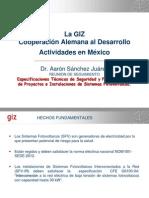 ESPECICACIONES GIZ-FIRCO