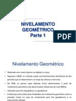 Altimetria Levantamento Geométrico Parte1
