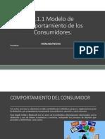 2.1.1 Modelos de Comportamiento Del Consumidos