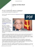 Porque Os Intelectuais Odeiam o Capitalismo - Instituto Ludwig Von Mises Brasil