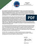 reference letter for eric dennis
