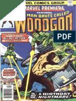 Marvel Premiere 31 Woodgod