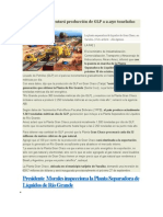 Gran Chaco Aumentará Producción de GLP a 2