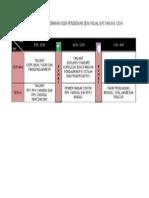 Jadual Kursus (KP) Tahun 5 2014 Edit
