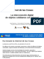 Joan Espinoza Internet de Las Cosas