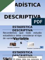 ESTADìSTICA  DESCRIPTIVA-clase 2