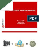 Online Giving Trends