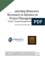 Key Leadership Behaviors 2013 BW PRADCO