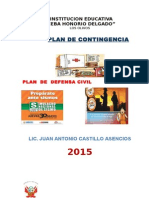 Defensa Civil Plan Contin Gencia i e