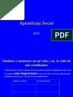 Aprendizaje Social