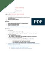 Asnt Level III Study Note