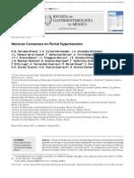 Consenso Mexicano de hipertension portal