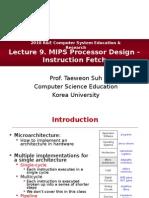 MIPS Processor IFetch